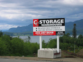 Stoarage Units Campbell River